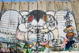 Graffiti on separation barrier Bethlehem