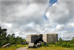 Giant casemate at Vara battery, Norway