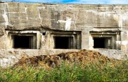 Bunker at Texel airport, Holland