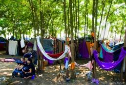 Transit camp, Near Horgos, Serbia