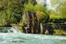 Roue hydraulique, Clerey-sur-Seine