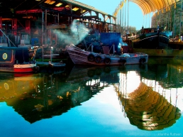 Boatyard at Brentside Wharf, Brentford