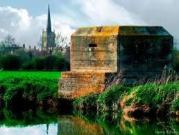 Pillbox at Lechlade, Glos