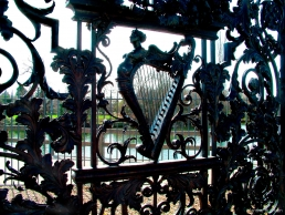 Wrought-iron gates at Hampton Court