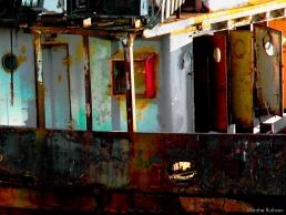 Old Thames boat, Southwark