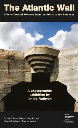 The Atlantic Wall - exhibition invitation