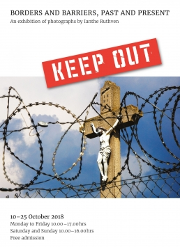 KEEP OUT, Borders and Barriers, Past and Present - exhibition invitation